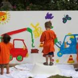 Kinderfest Benen-Diken-Hof: Malaktion für Kids