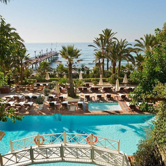 Marbella Club Beach und Pool©mcpr