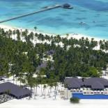 Atmosphere Resort Malediven: Ansicht von oben; Bild: PR