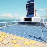 TUI Cruises - MeinSchiff 4: Sportdeck; Bild: TUI Cruises PR