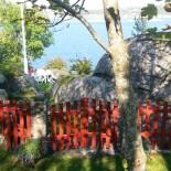 Norwegen: Garten auf der Insel_Merdo; Bild: Sonja Vodicka