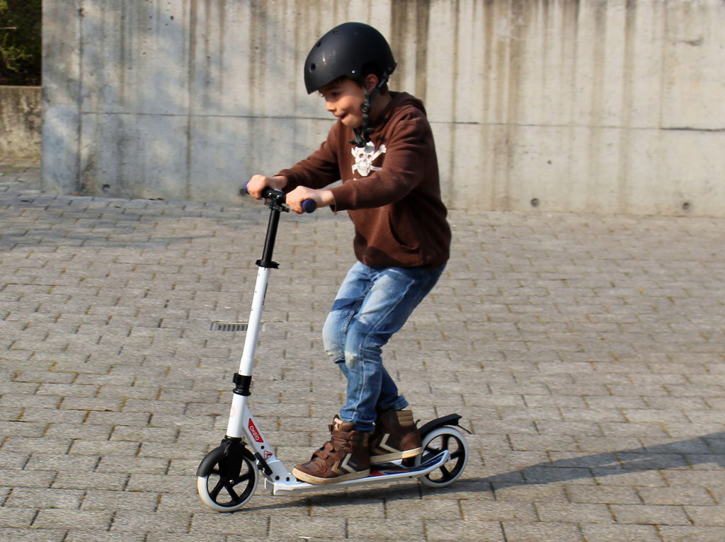 city roller scooter oxelo test trips4kids