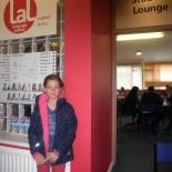 Clara in der Summerschool