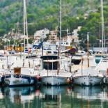 Hotel Jumeirah Port Soller - Schiffe im Hafen