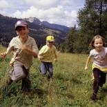 Club Robinson Landskron - Kinder auf dem Berg