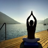 Club Robinson Landskron - Yoga auf dem Steg