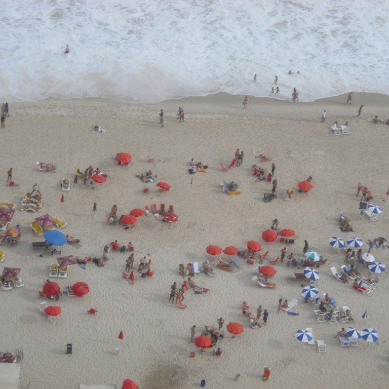 Rio de Janeiro Ausblick auf den Strand von Ipanema Bild: Sandra Mueller-Hofner, Trips4kids.de