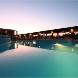 Pula Suites, Pool by Night
