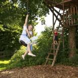 Stanglwirt Kinderbauernhof Spielplatz mit Baumhaus