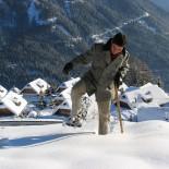 Almdorf Seinerzeit Schneeschuhwanderung Foto: Almdorf Seinerzeit