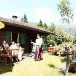 Hotel Schwarzbrunn - Almbetrieb im Sommer