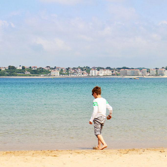 Strand bei Socoa, gegenüber von Saint Jean de Luz ©AndreaFischer