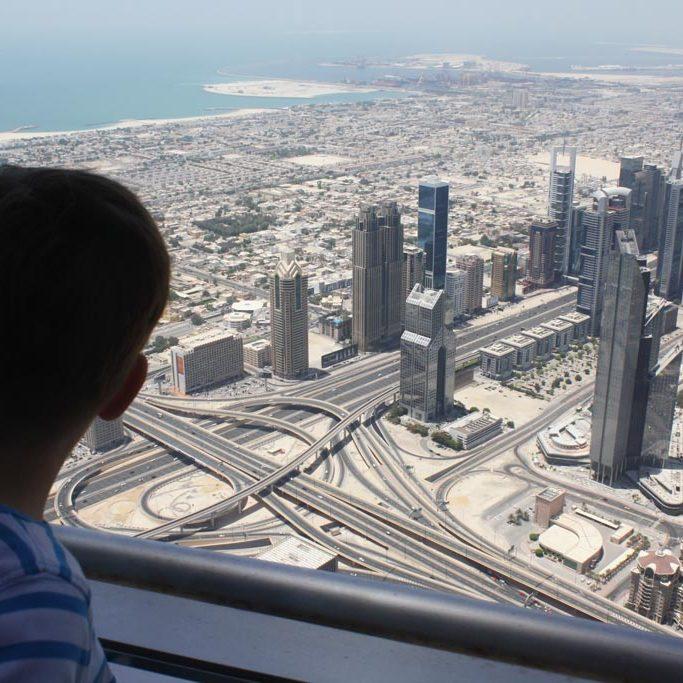 View_Burj Khalifa_Dubai_Trips4Kids