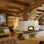 Bergdorf Priesteregg, Innenansicht - Wohnzimmer