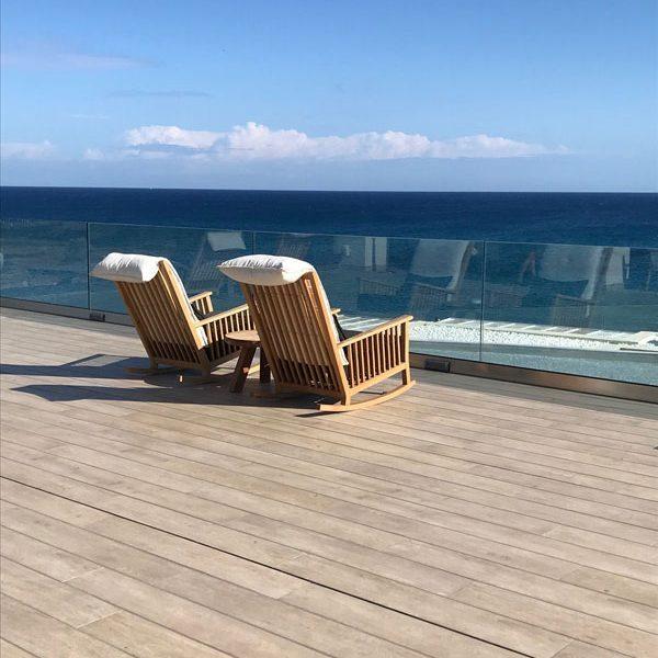 Abaton Resort Kreta Schaukelstuhl