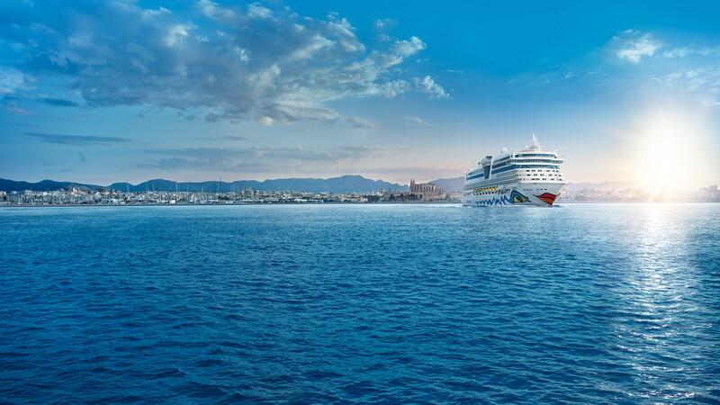 AIDA diva-Palma © Foto: AIDA Cruises
