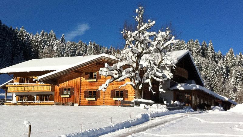 Alpe Dornach - Aussenansicht im Winter