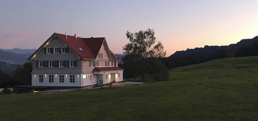 Alpenloge Aussenansicht