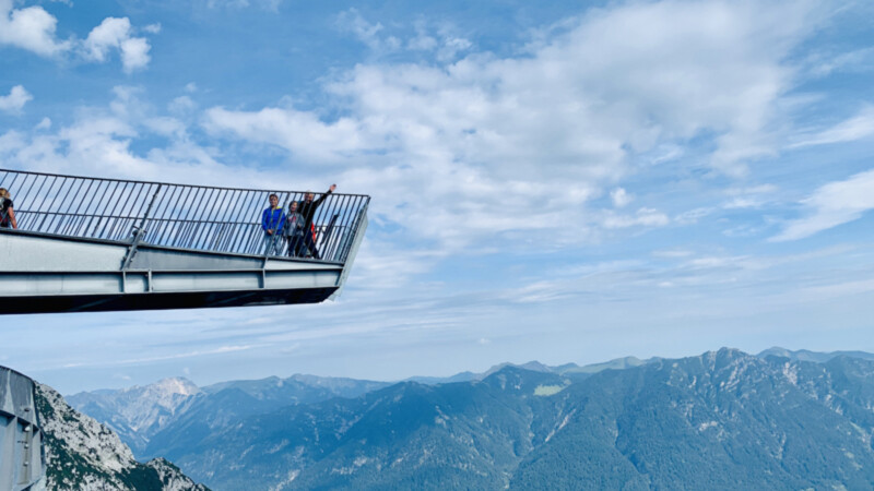 AlpspiX Aussichtsplattform Foto © Andrea Fischer
