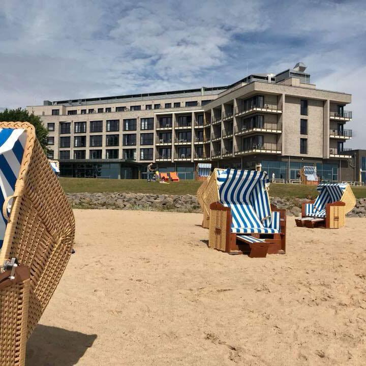 Arborea Resort Neustadt, Hotel mit Strandkörben © Foto: Andrea Fischer