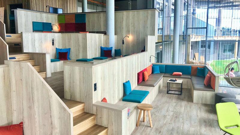 Arborea Resort Neustadt, Bar Stairs Lobby © Foto: Andrea Fischer, Trips4Kids.de