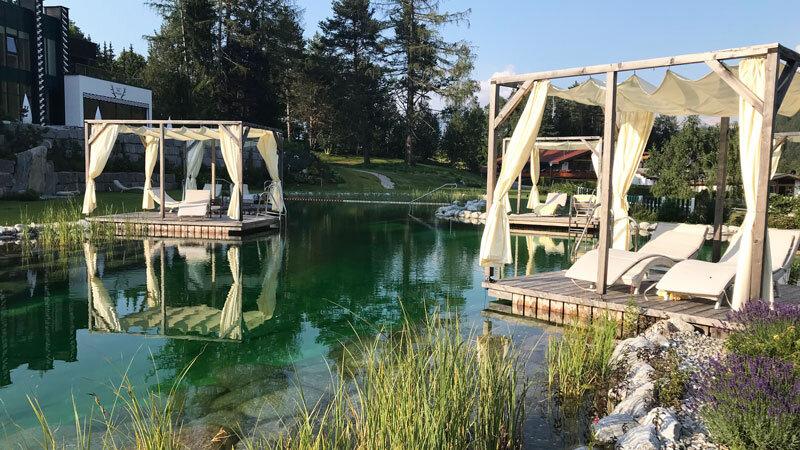 Natursee im Astoria Resort Seefeld
