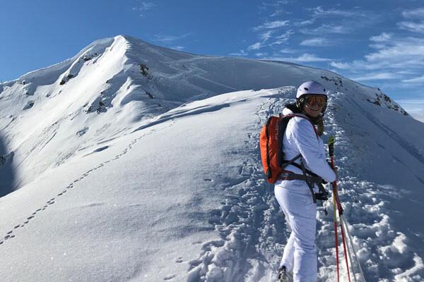 Skitour La-Plagne @Foto: Andrea Fischer Trips4Kids.de