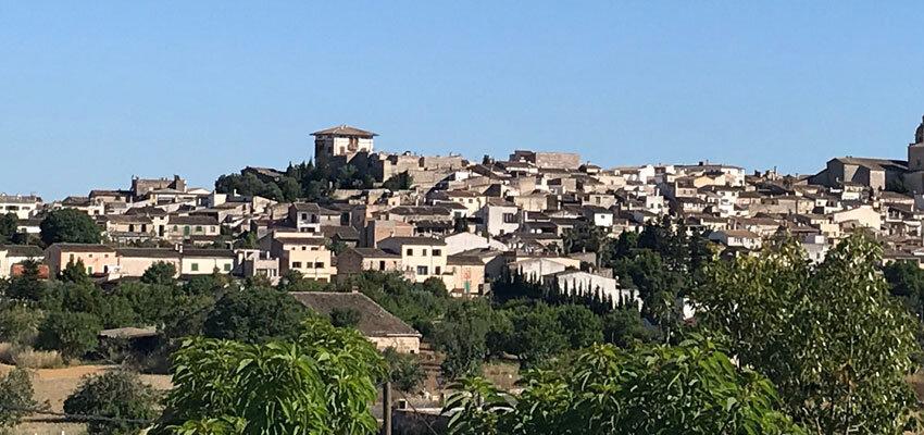 Ausblick auf Montuiri
