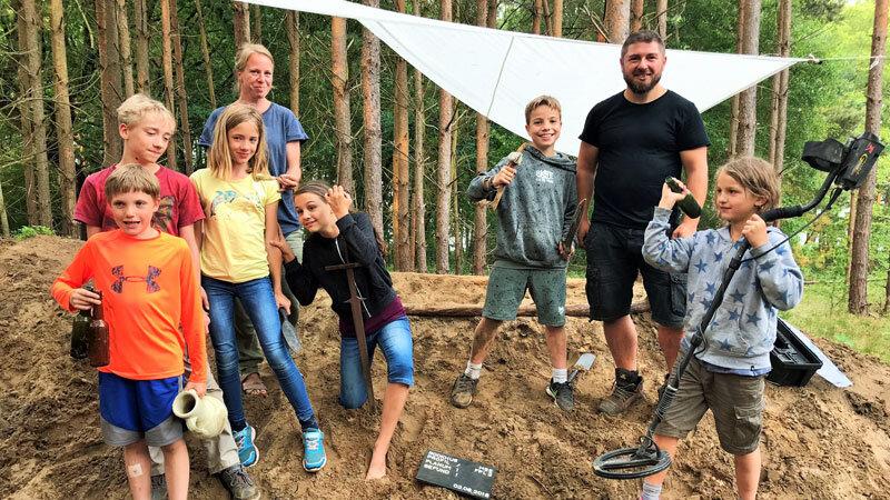 Ausgrabung-für-Kids, Ausgrabung-Rookhus ©Andrea Fischer