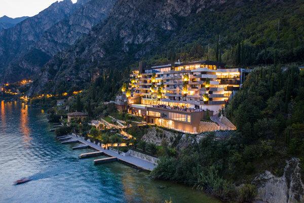 Aussenansicht EALA My Lakeside Dream in Limone sul Garda