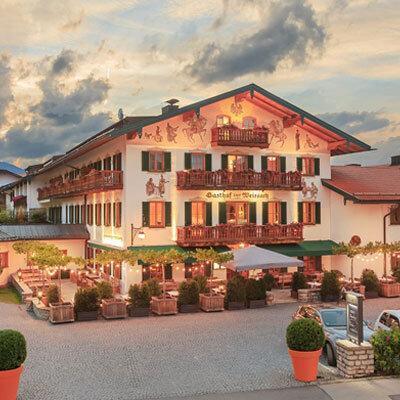 Bachmair Weissach Hotel Aussenansicht; Bild: Bachmair Weissach PR