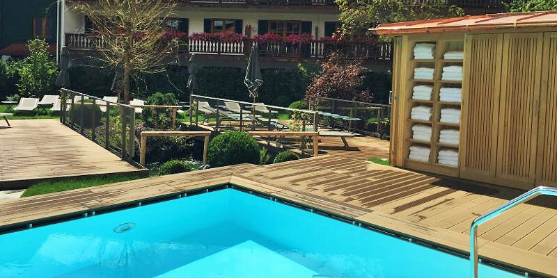 Bachmair Weissach Pool