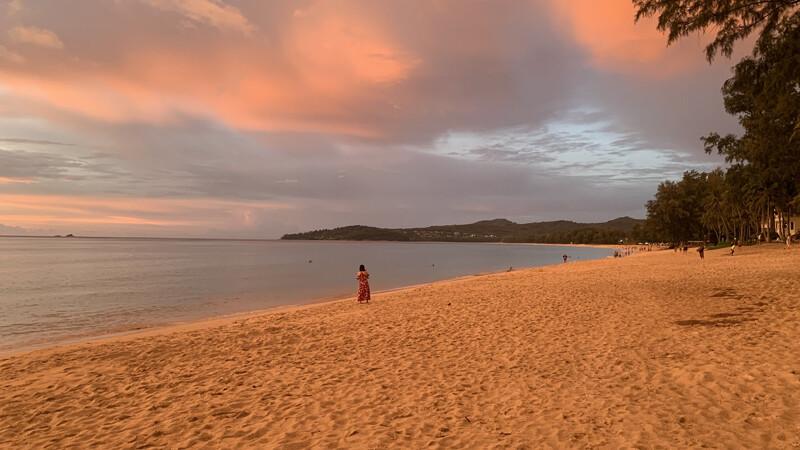 Bang-Tao Strand, Sonnenuntergang Foto: © Andrea Fischer