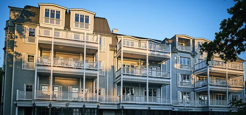 barefoot Hotel Aussenansicht Fassade