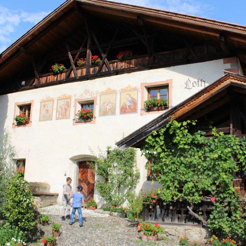 Besuch beim Lothhof in Schenna Foto: Andrea Fischer