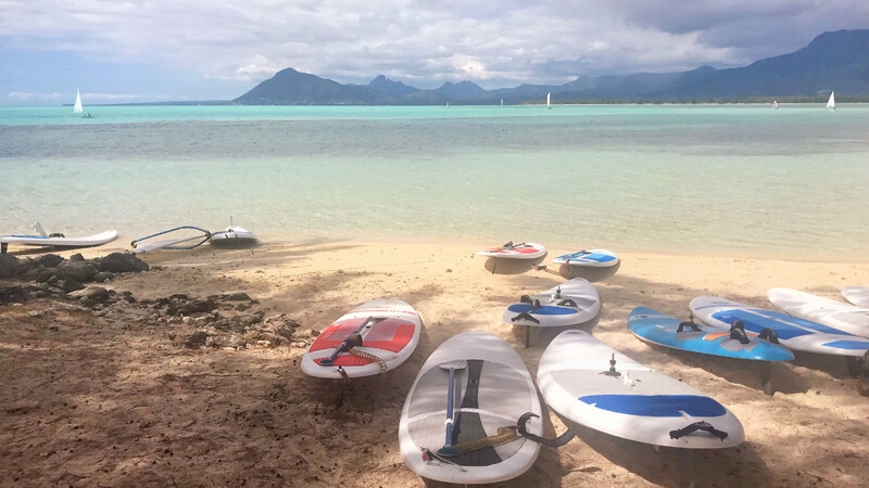 Beachcomber Paradise SUPs, © Foto: Andrea Fischer