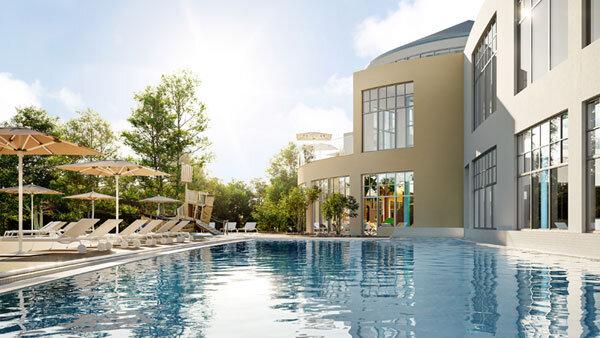 BEECH Resort Fleesensee- Aquafun_Außenpool