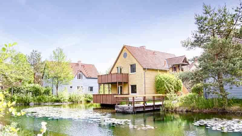 BEECH-Resort-Fleesensee - Aussenansicht