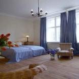 Jagdschloss Bellin blaues Zimmer