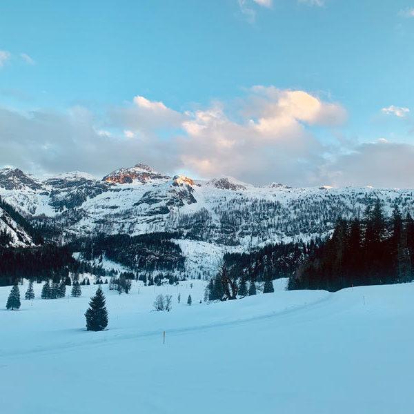 Berglandschaft im Winter Gnadenalm Obertauern @ Foto: Trips4Kids.de, Andrea Fischer