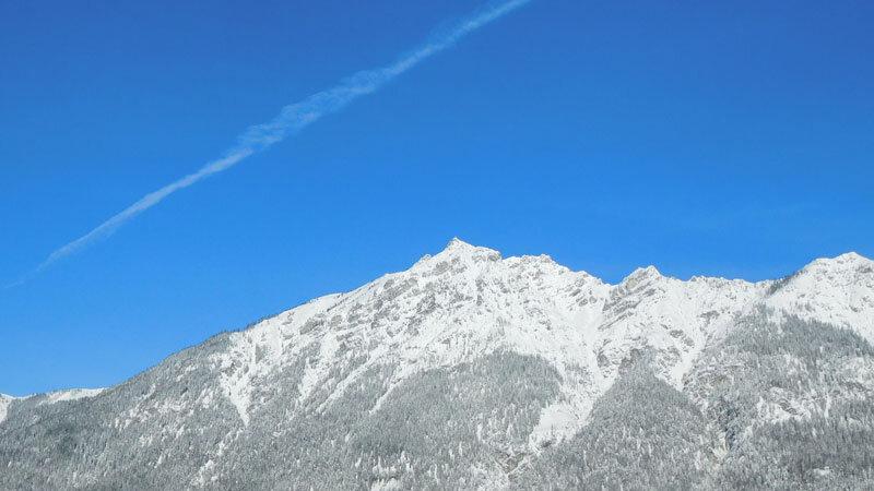 Bergpanorama Zugspitze