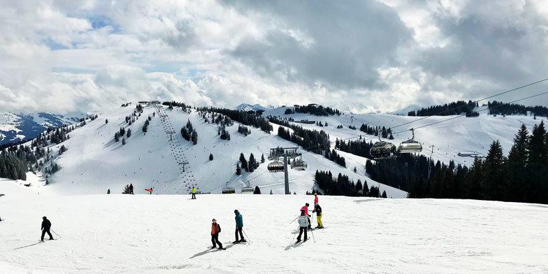 Bergwelt-Wilder-Kaiser-Scheffau-Winter Foto © Andrea Fischer, Trips4Kids.de