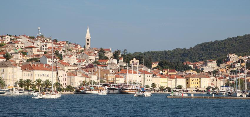 Hafen auf der Blauen Reise in Kroatien