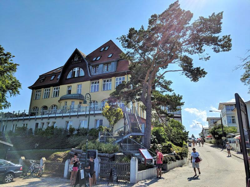 Ansicht Strandvillen Heringsdorf © Foto: Thomas Weiß