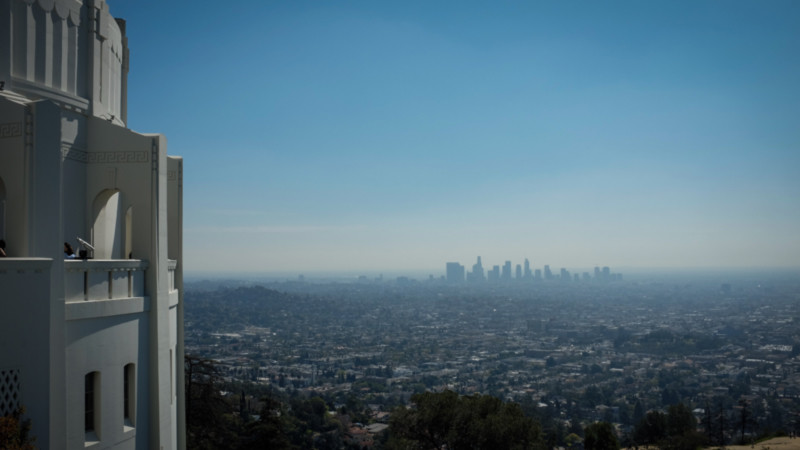 Blick Los Angeles, Kalifornien Foto: @Michael Hartenberger
