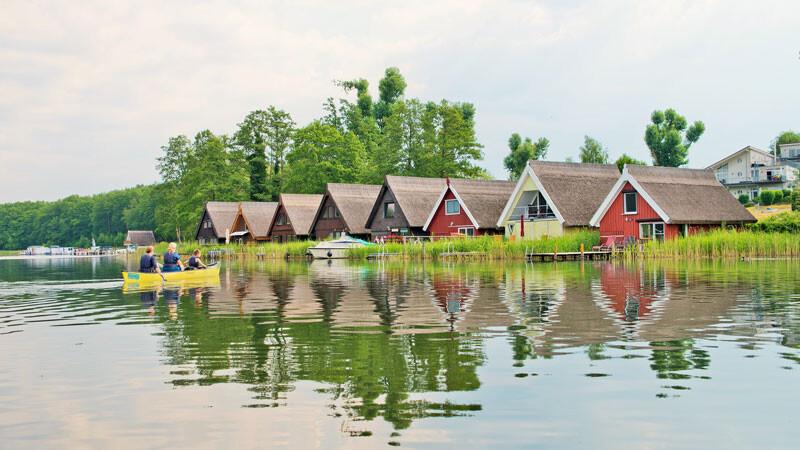 Ferienpark Mirow, Seenplatte ©Christin Drühl, Tourismusverband Mecklenburgische Seenplatte