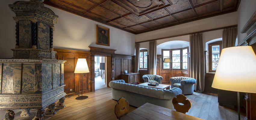 Castel Hoertenberg Suite Stube