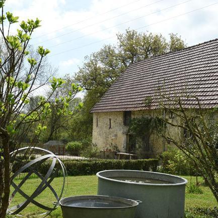 Garten im Chez nous Champagne