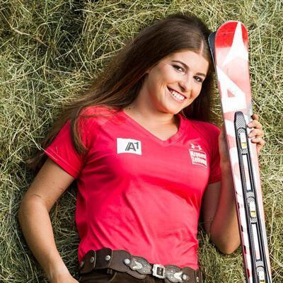 Ski-Rennläuferin Christina Ager, Bildnachweis: Christoph Ascher