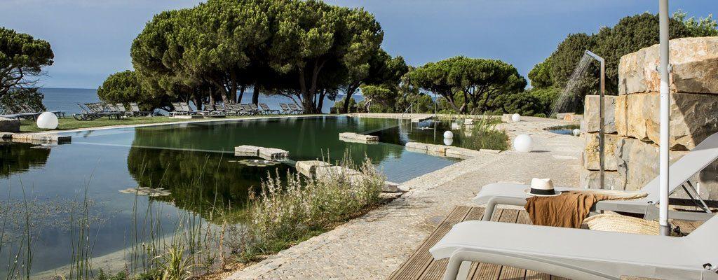Naturpool im ZEN Garten des Club Med Da Balaia